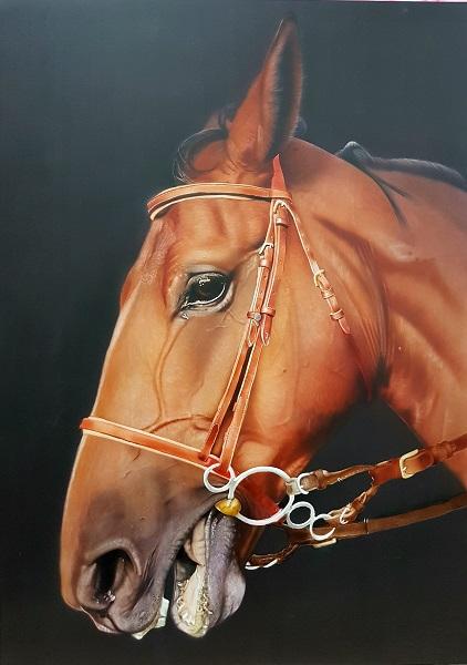 cheval à l aérographe, école du réalisme, formations et stage aérographe