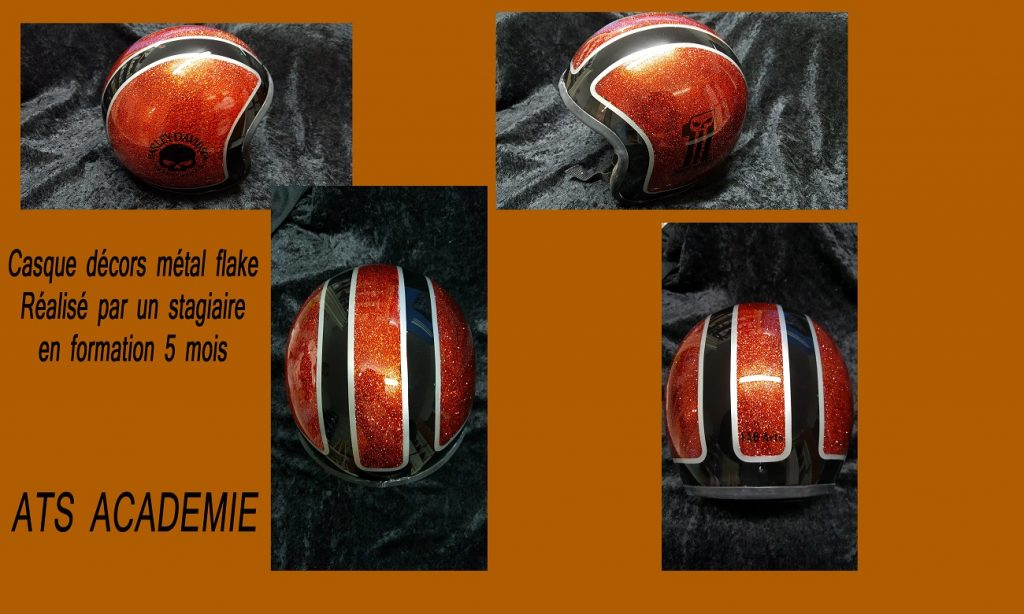 métal flaque,formation aérographe