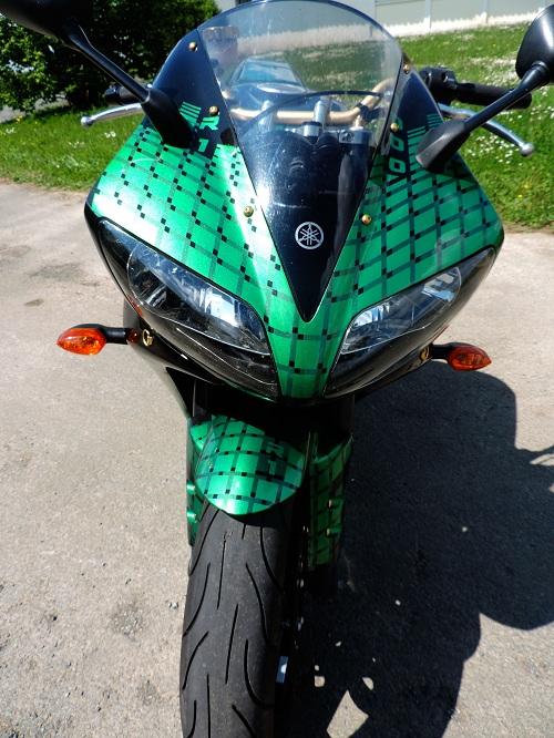 Formation peinture sur moto