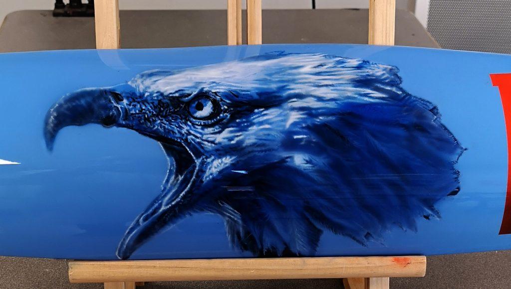 peinture sur bois à l aérographe, formation aérographe en hyperréalisme
