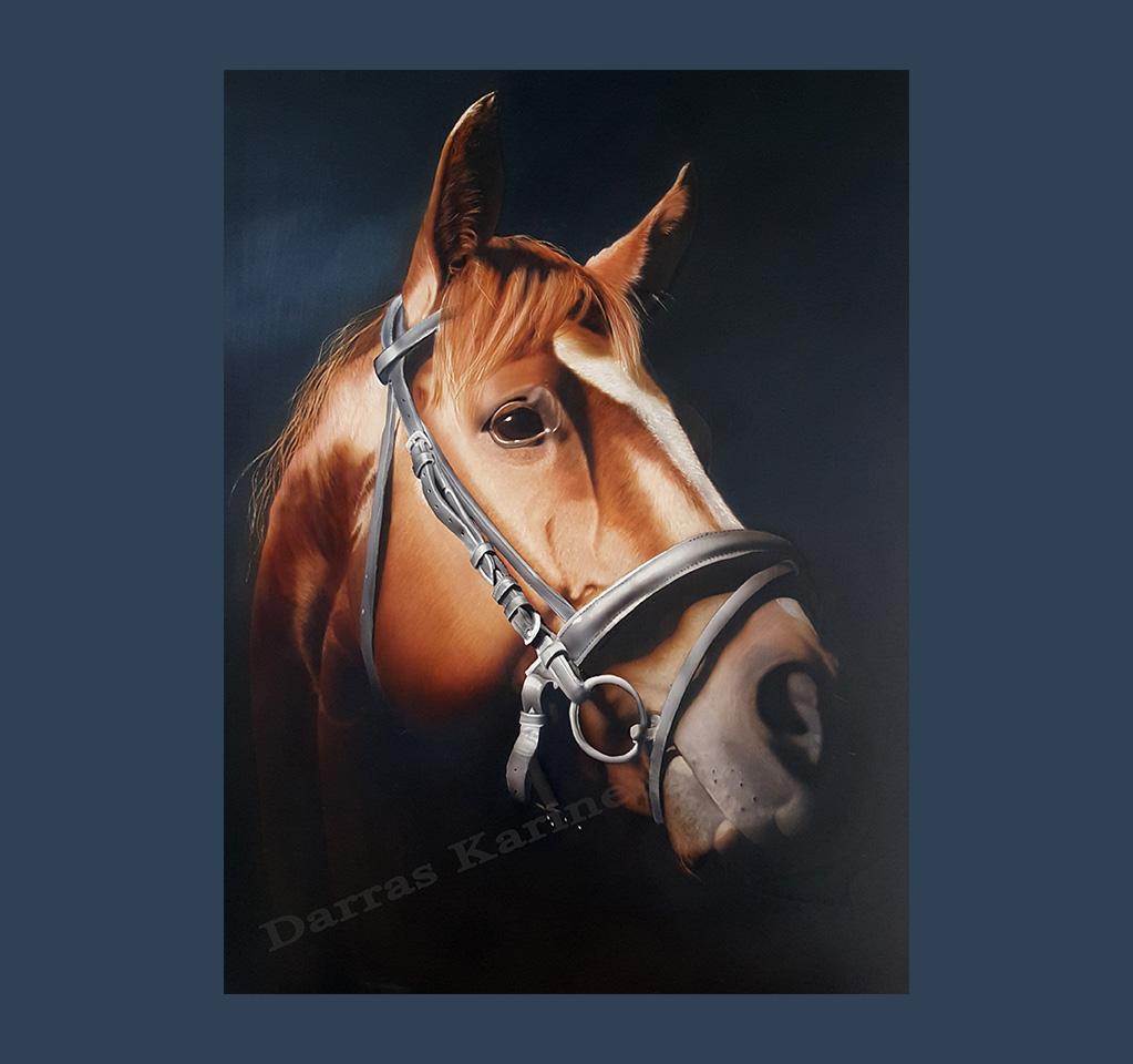 cheval à l aérographe, formations et stage aérographe