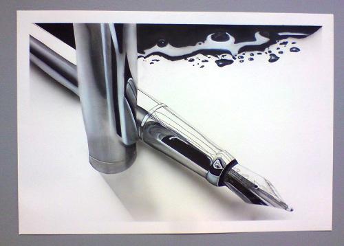 Peinture-à - l aérographe-formation-peinture-école du -réalisme-stage