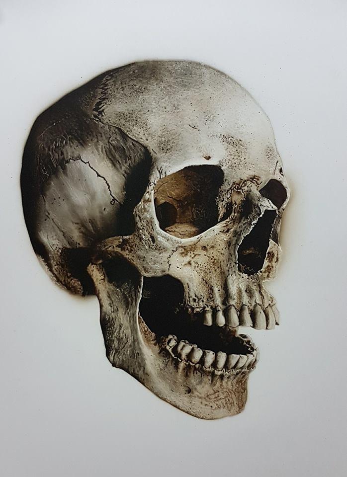 Peinture-skull-formation-école-réalisme-art-artiste-peintre-peindre-vienne-Poitou-créatex-iwata