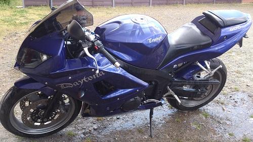 peinture moto