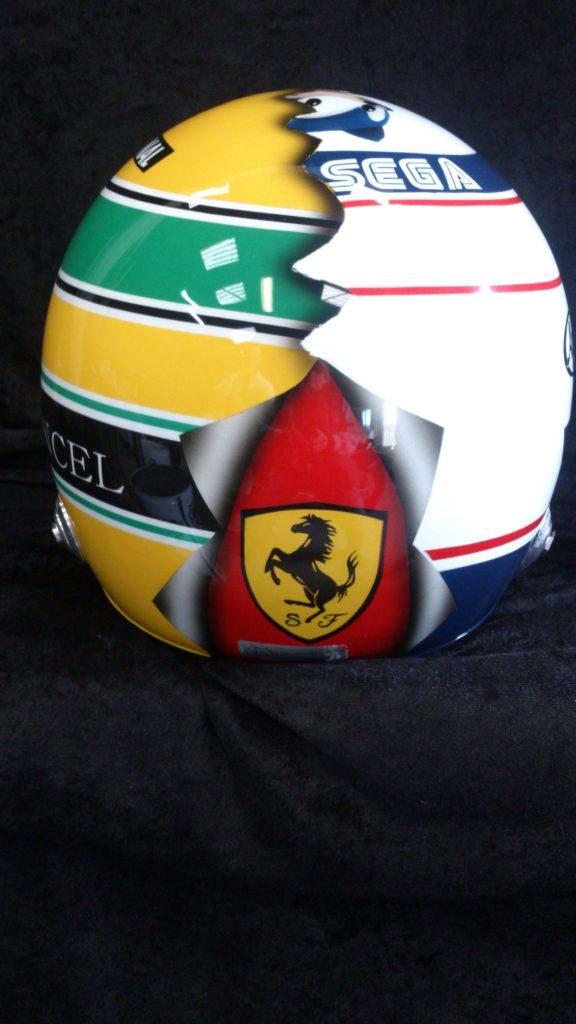 Peinture sur casque